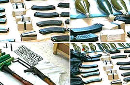 Syrian Authorities Seize Smuggled Weapons