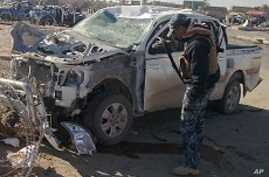 At Least 12 People Killed in Iraq Suicide Bombings