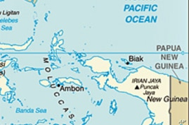 Indonesia's easternmost province of Papua