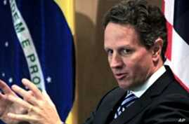 Geithner in Brazil to Boost Economic Ties