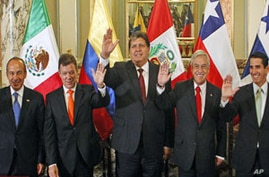 Chile, Colombia, Mexico, Peru Sign Trade Pact