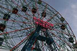 Famous New York Amusement Park Still Up and Spinning