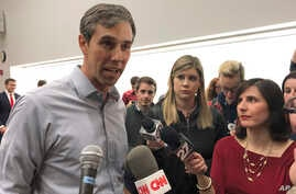 "FILE - Beto O'Rourke says he has made up his mind about a 2020 presidential run and will announce his intentions ""soon."""