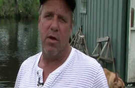 Louis McAnespy is a third-generation commercial fishermen from Louisiana who fears he will lose his livelihood due to the fishing ban imposed after last week's oil spill in the Gulf of Mexico (file photo)