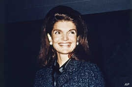 Jacqueline Kennedy (date and location unknown).