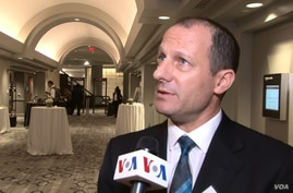 Israeli deputy chief of mission in Washington Reuven Azar speaks to VOA Persian on sidelines of an Endowment for Middle East Truth event in Washington, June 12, 2018.