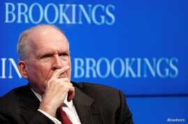 CIA Director John Brennan attends a forum at The Brookings Institution in Washington, D.C., July 13, 2016.