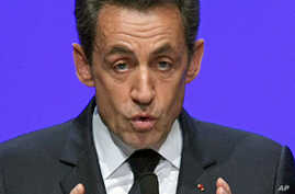 Sarkozy Lays Out Vision on Eurozone Reforms