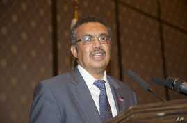 Ethiopian Minister of Foreign Affairs and academic Dr. Tedros Adhanom Ghebreyesus, seen in this May 2016 photo, is the first African candidate to head the World Health Organization, WHO.