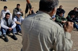 Libyan Opposition Gives War Lessons to Youth