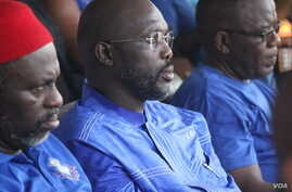 CDC leader and presumptive candidate for president George Oppong Weah.