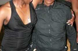 Two women enjoy themselves in a gay-friendly nightclub in Nairobi … But activists say homosexuals in Kenya are under increasing threat
