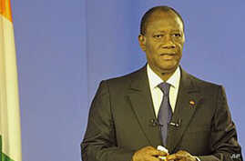 Ivory Coast's President-Elect Calls for End to Fighting