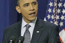 Obama Urges Peaceful Response to Protests in Mideast