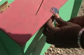 IOM Suggestion Box Gives Haitians Outlet for Frustration