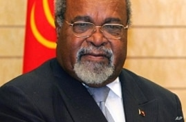 Somare Says He Is Still PM of Papua New Guinea