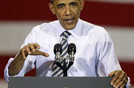 In Iowa, Obama Underscores Role of Manufacturing in Recovery