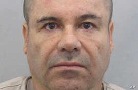 "This photo provided by Mexico's attorney general, shows the most recent image of drug lord Joaquin ""El Chapo"" Guzman before he escaped from the Altiplano maximum security prison in Almoloya, west of Mexico City,  July 12, 2015."