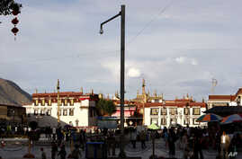 The Jokhang Temple in Lhasa is seen in this June 2009 photo.