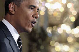 Obama Urges Restraint in Middle East