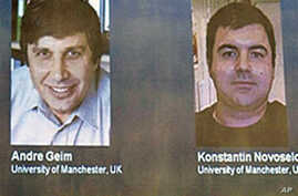 Russian Scientists Win Nobel Prize in Physics
