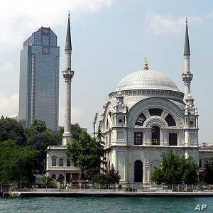 Minarets and skyscrapers in Istanbul. Turkey's mix of modernity and Islam helps it reach out to conservative Arab states, 13 June 2010