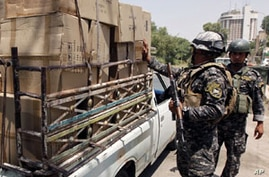 Roadside Bomb Wounds 7 in Baghdad