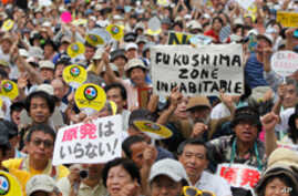 Anti-nuclear Protesters March In Japan