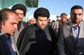 Iraq's al-Sadr Urges Calm From Supporters
