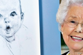 Ann Taylor Cook, the face of Gerber baby food, turned 90. (Gerber)