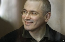 Khodorkovsky Found Guilty of Embezzlement in Russian Court
