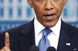Obama: Time Running Out On Big Debt Deal