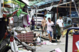 Typhoon Heads for South China After Striking Philippines