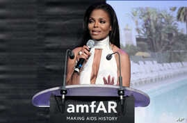 FILE - Janet Jackson at the auction for the amfAR Cinema Against AIDS benefit during the 65th Cannes film festival, in Cap d'Antibes, southern France.
