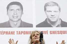 Rights Group Marks Anniversary of French Journalists' Captivity