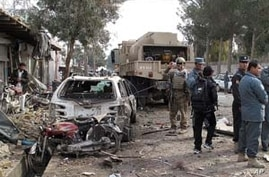 Suicide Bomber Attacks Reconstruction Team in Afghanistan