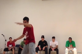 A group of Iraqi urban dancers is visiting major U.S. cities this month as part of a first-ever Iraqi hip hop diplomacy tour of the United States