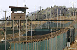 The exterior of Camp Delta is seen at the U.S. Naval Base at Guantanamo Bay, March 6, 2013