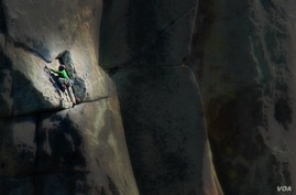 Climbers from around the world come to City of Rocks National Reserve in southern Idaho to test their skill on the massive granite rocks.