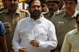 Indian Ex-Games Chief Ordered Into Police Custody