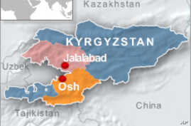 Kyrgyzstan President Loses Showdown with Southern Mayor