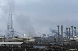 FILE - A general view of the Arak nuclear power plant, 190 km southwest of Tehran Jan. 15, 2011.