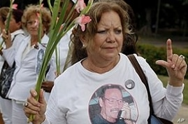 Cuban Activists March for Release of Political Prisoners