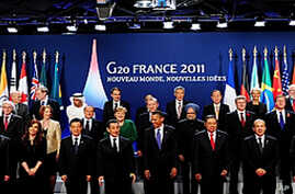 G20 leaders gather in Cannes, France