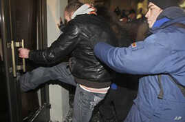 Belarus Opposition Attacks Government Building After Election