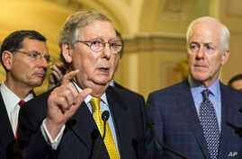Senate majority leader Mitch McConnel, May 6, 2015.