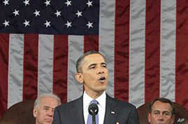 Obama Stresses Economy and Job Creation in State of the Union Speech