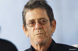 FILE - Musician Lou Reed is seen at New York's  Lincoln Center March 24, 2011.