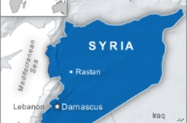 Syrian Government Forces Gain Ground in Rastan Assault