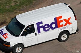 Fed Ex was one of many the companies and counties hit by a global cyber attack, May, 12, 2017.